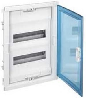 Legrand 001521 Aislante puerta curva caja de empotrar 1 fila 12 + 2 módulos Transparente, Blanco: Amazon.es: Bricolaje y herramientas
