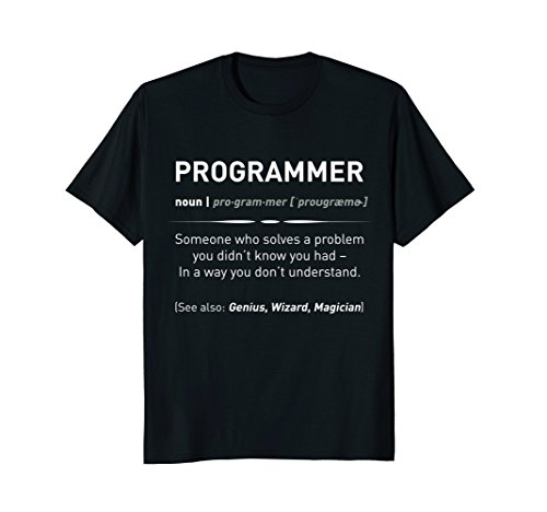 Funny Programmer Meaning T-Shirt | Programmer Noun Defintion