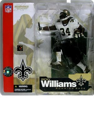 Ricky Williams New Orleans Saints McFarlane Chase Variant Alternate Action (Variant Mcfarlane Toys)
