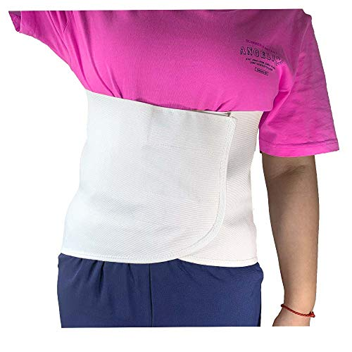 Broken Rib Brace Belt Women Rib Support Women Men for Cracked Fractured Or Dislocated Ribs Protection Chest Wrap Belt (35