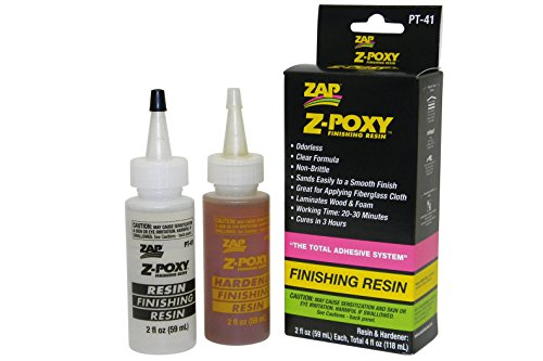 Pacer Technology (Zap) Z-Poxy Finishing Resin Adhesives, 4 oz