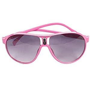 ShungHO Unisex Kids Sunglasses Children Outdoor Goggles Plastic Eyeglass,Pink