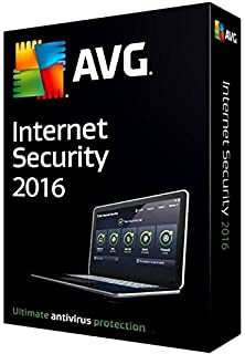 AVG Internet Security 2017 - 1 Year Unlimited Devices (PC): Amazon ...