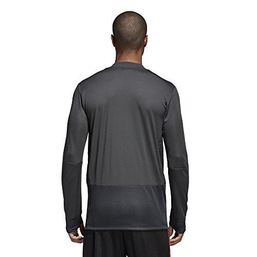 adidas Fef Tr Top Camiseta, Hombre GRPUDG/GRINOC/ROJO