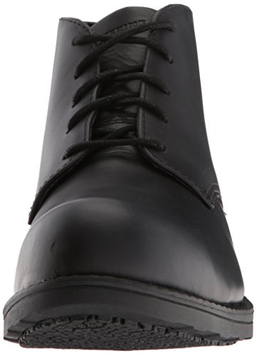 Boot Men's Chukka Bedford Industrial SR Black Toe Steel Wolverine 0PTTfd