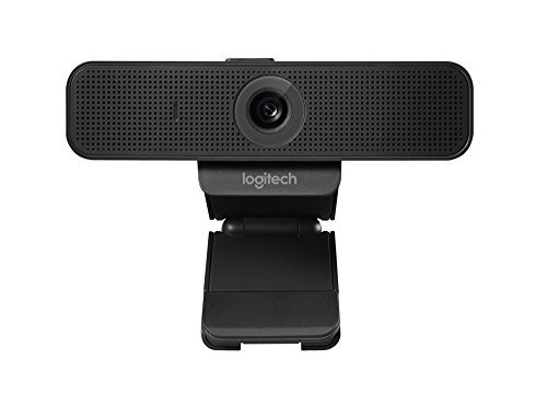 Logitech C925-e Webcam with HD Video and Built-In Stereo Microphones (Best Hd Camera For Skype)