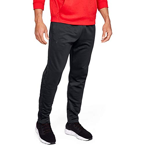 (Under Armour Men's Armour Fleece Pants, Black (001)/Black, XX-Large )