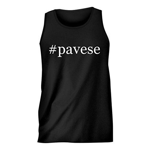 pavese-hashtag-mens-comfortable-humor-adult-tank-top-black-medium