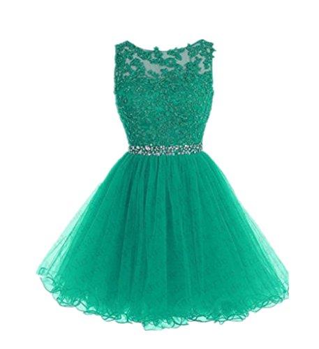 Linie Kleid Drasawee A Grün Grün Damen xUqEwR6