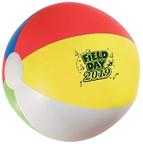Field Day 2019 Beach Balls (Packs of 75) Fun Giveaways