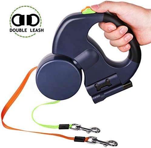 Double Retractable Meters Walking Dispenser