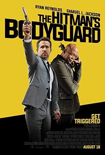 Amazon Com Hitman S Bodyguard Final 2017 Original Authentic Movie Poster 27x40 Single Sided Ryan Reynolds Salma Hayek Gary Oldman Elodie Yung Everything Else