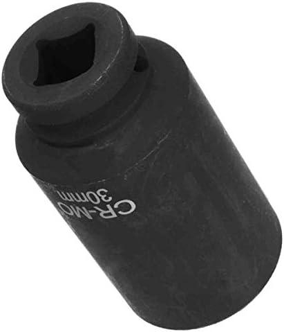 """Queenwind 30mm 1/2""""ドライブ12ポイントスピンドルアクスルナットソケットナットボルトツイストソケット"""