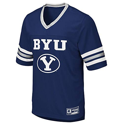 Colosseum Mens BYU Brigham Young Cougars Football Jersey - L
