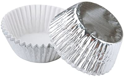 Silver Foil Standard Baking Cups - 24 Ct