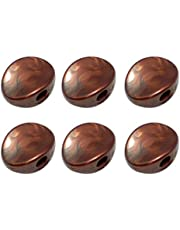 LEIPUPA 6x Tuner Tuning Key Knob Button DIY for Acoustic/Electric Guitar Coffee