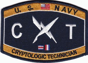 Amazon.com: US Navy Cryptologic Technician CT Patch: Automotive