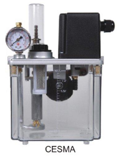 Right Hand Manual Bridgeport Lubricator 2 Liter CKE-20 Bijur