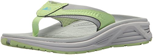 Blue Columbia Sandals - Columbia Montrail Women's Molokini III Trail Running Shoe, earl grey, coastal blue, 9 B US