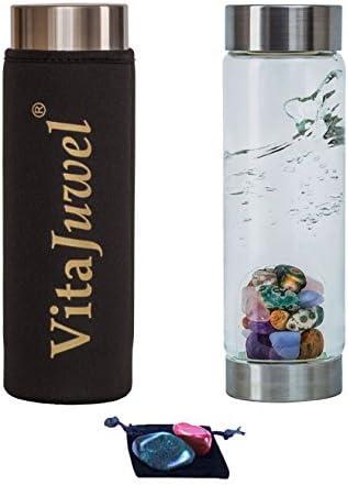 Vita Juwel a través de gemwater Botella con Funda de Neopreno, 2 ...