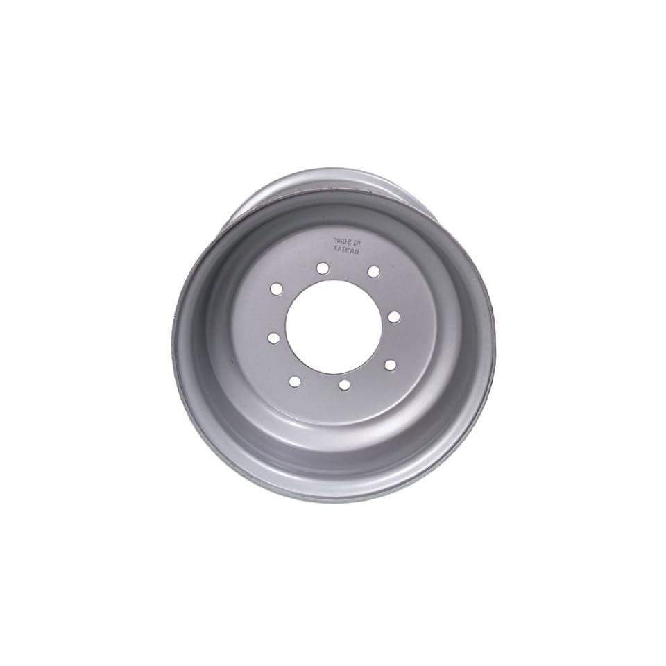 ITP Steel Wheel   10x8   3+5 Offset   4/137   Silver , Bolt Pattern 4/137, Rim Offset 3+5, Wheel Rim Size 10x8, Color Silver, Position Rear 18R137