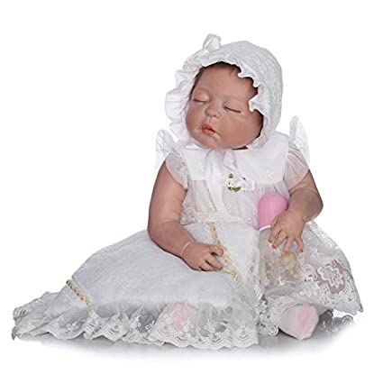 Amazon.com: NPK Collection - Muñeca de silicona para bebé ...