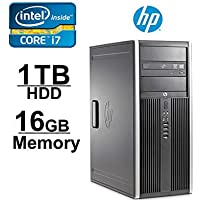 HP Elite 8300 Workstation Computer - Core i7 3.5GHZ up to 3.9GHz Ivy Bridge - NEW 1TB HDD with 2 YR WARRANTY - 16GB RAM - WIFI - Windows 7 Pro 64-Bit- Refurbished