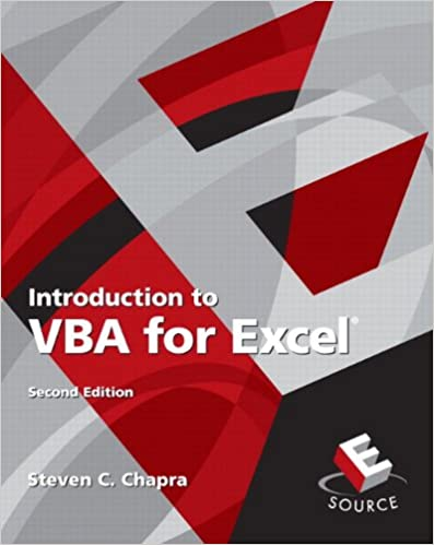 Introduction to VBA for Excel (2nd Edition): Steven C
