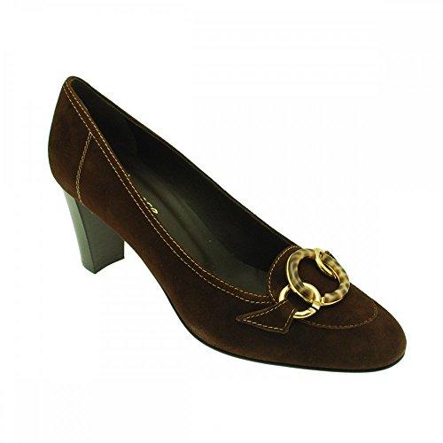 Para Lorbac Vestir Marrón Mujer Zapatos De Ante HttRcw4q0f