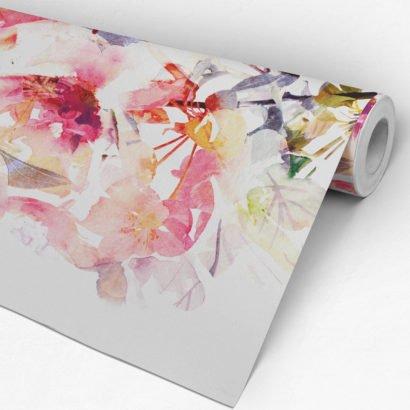 4e30d6f8fcd5ea Tapeten, Wanddeko, Tapete (384 х 254 cm, Grün Ombre Aquarell Selbstklebende  Tapete DIY Wanddeko Kreative Ideen): Amazon.de: Baumarkt