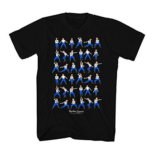 Napoleon Dynamite Men's Napoleon Dynamite Dance Moves Graphic T-Shirt, Black, Small from Napoleon Dynamite