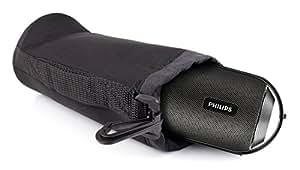 DURAGADGET Funda / Bolsa Protectora Para Philips BT6000B/12 - Con Mini Mosquetón - Hecha En Neopreno De Alta Calidad