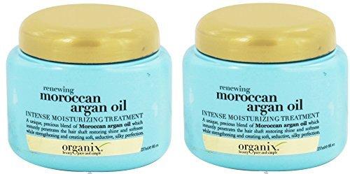 Organix Renewing Argan Oil of Morocco Intense Moisturizing Treatment, 8 Ounce (Pack of 2) (Renewing Argan Oil Of Morocco Intense Moisturizing Treatment)