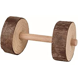 Natural Living Dumbbells Chew and Fling Toys for Small Animals