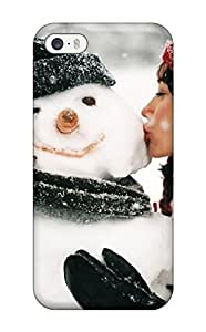 phone covers Perfect A Girl Kissing A Snowman Case Cover Skin For iPhone 5c Phone Case