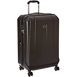 Delsey Luggage Helium Shadow 3.0 25 Inch Exp. Spinner Trolley, Black, One Size