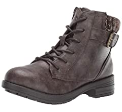 Amazon.com: UNIONBAY Botas de moda para mujer Estocolmo: Shoes