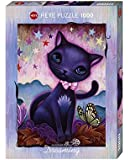 Heye 29687 - Standardpuzzle, Jeremiah Ketner, Dreaming black Kitty, 1000 Teile