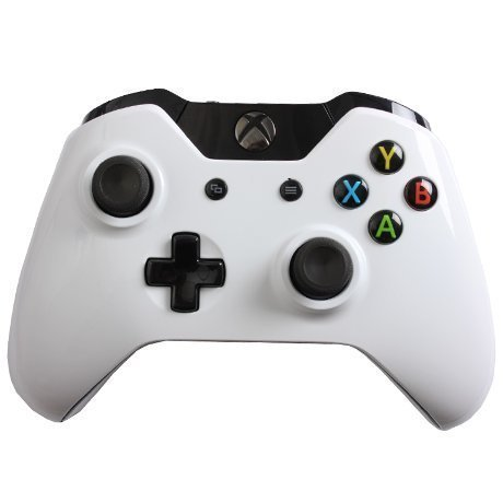 Evil Controllers X1mGWC Glossy White Custom Xbox One Controller