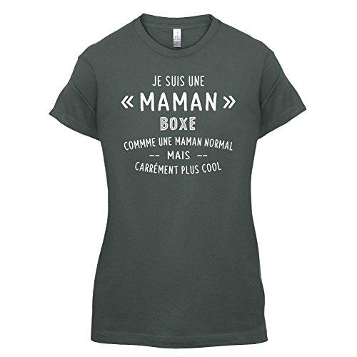 une maman normal boxe - Femme T-Shirt - Gris foncé - S