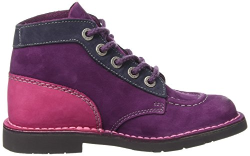 Bottes Fuchsia Rangers Bordeaux Orange Col Rouge Kickers Fille PUx5n8