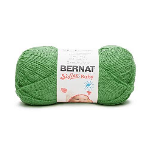Bernat Softee Baby Yarn, 5 oz, Gauge 3 Light, Grass Green