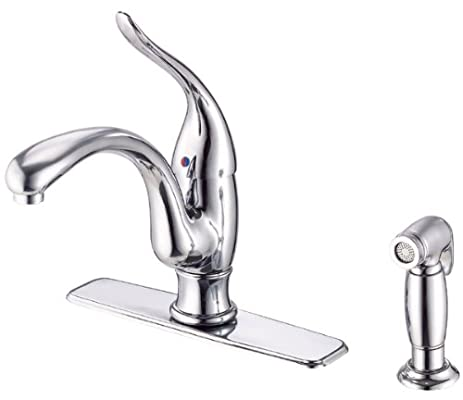 Danze D405521 Antioch Single Handle Kitchen Faucet with Matching ...