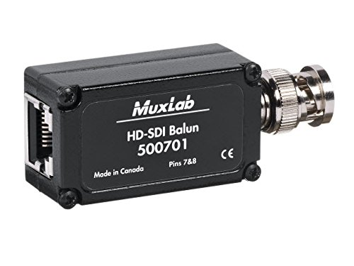 Muxlab HD-SDI Balun, 2 Pack