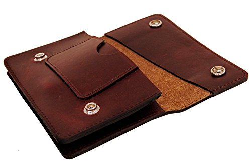 Transaction Leather Leather Red Project Transaction Wallet Trucker Wallet Oxblood Project Oxblood Trucker 0q5w4qHU