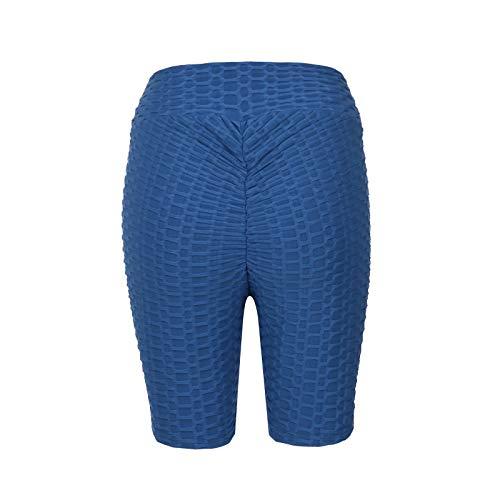Justwide Mono Flaco De Gran TamañO para Ejercicios De Yoga Sin Espalda(Azul,M)