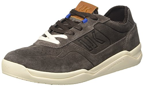 Lumberjack Spin a Sneaker Collo Grigio Uomo Dk Grey Basso rrpRcWFT