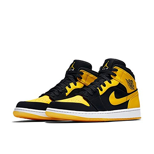 jordan-mens-air-jordan-1-mid-shoes-black-varsity-maize-white-size-95