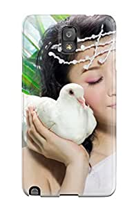Premium Durable Beautiful Asian Model Fashion Tpu Galaxy Note 3 Protective Case Cover
