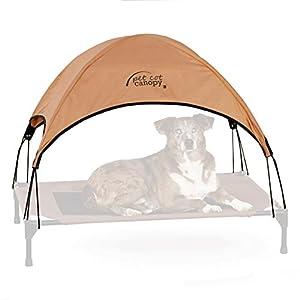 """K&H Pet Products Pet Cot Canopy Large Tan 30"""" x 42"""""""